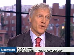 Bloomberg TV Interviews Alex Lidow