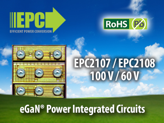 Efficient Power Conversion (EPC) Introduces eGaN Power Integrated Circuit for a New Benchmark in Efficiency and Cost for A4WP Rezence Wireless Power Transfer