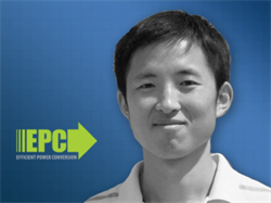 Dr. Yuanzhe Zhang Joins Efficient Power Conversion (EPC) as Director, Applications Engineering