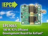 100 W, 92% Efficient eGaN FET Development Board from Efficient Power Conversion (EPC) for the 6.78 MHz  AirFuel Wireless Power Standard