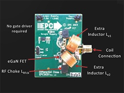 WiGaN: Low Cost Differential-Mode Wireless Power Class-E Amplifier Using eGaN FETs