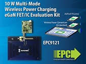 No More Standards Wars in Wireless Charging ‒ EPC Introduces a Wireless Multi-Mode Demonstration System Compatible with All Current Wireless Power Charging Standards