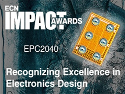 Efficient Power Conversion Corporation's (EPC) eGaN Transistor Wins 2017 Impact Award from Electronics Component News Magazine