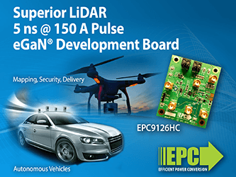 150-Ampere LiDAR Development Board Can Deliver 5 Nano Second Pulses Using ...