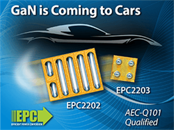 eGaN Technology is Coming to Cars
