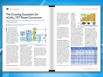 The Growing Ecosystem for eGaN FET Power Conversion