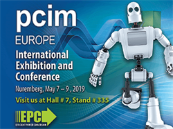 EPC to Showcase eGaN Technology-Based High Power Density DC-DC Conversion for Cars and Computers, as well as Many Other Applications at PCIM Europe 2019