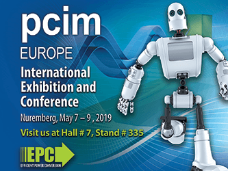 Efficient Power Conversion(EPC)、欧州の展示会PCIM Europe ...