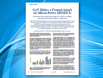 GaN Makes a Frontal Attack on Silicon Power MOSFETS