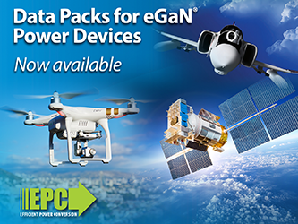 EPC and Spirit Electronics to Provide Data Packs for eGaN Power Devices