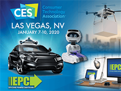 Efficient Power Conversion (EPC) to Display GaN-Enabled Consumer Applications Including Autonomous Cars, Wireless Power, Drones, Robotics, and High-End Audio Systems at 2020 CES
