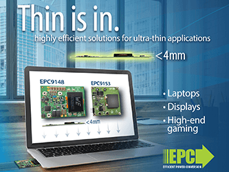 eGaN FETs from EPC Enable Multiple 250 W, 48 V DC-DC Solutions with 98% ...