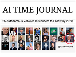 25 Autonomous Vehicles Influencers to Follow by 2020