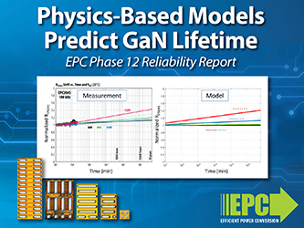 EPC Releases Physics-Based Models That Project eGaN Device Lifetime in New ...
