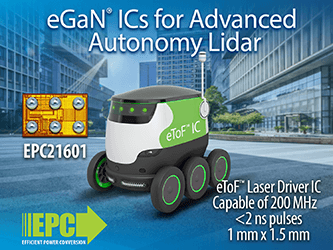 Efficient Power Conversion (EPC) Revolutionizes Lidar System Design with ...