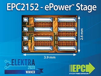 Efficient Power Conversion (EPC) Receives Elektra Award 2020 for ...