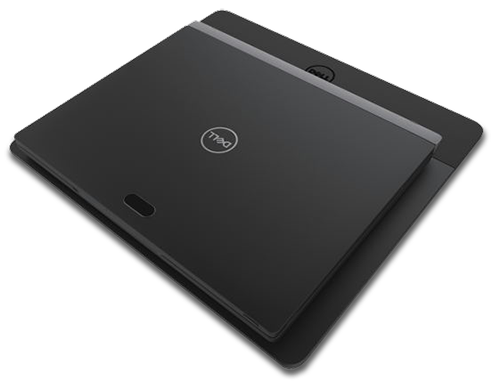 Dell's Latitude 7285 2-in-1laptop is wirelessly charged using a highly resonant magnetic power-transmitting unit