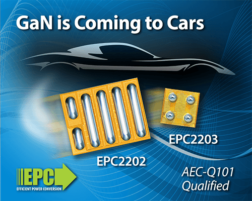 Gallium Nitride is coming to automotive