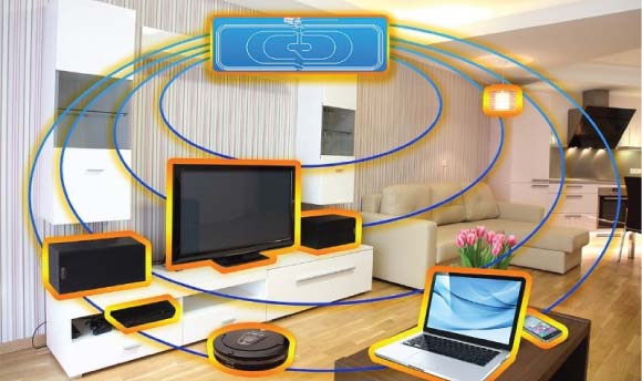 Wireless power will eventually eliminate power cords throughout the home