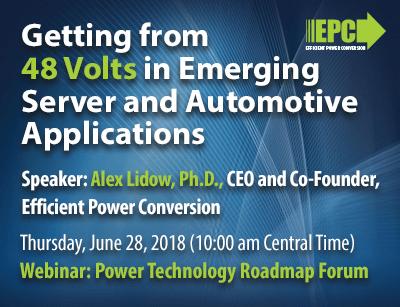 Webinar: Power Technology Roadmap Forum (10:00 am Central Time)