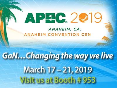 Applied Power Electronics Conference (APEC) 2019
