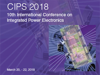 CIPS 2018 - 10th International Conference on Integrated Power Electronics