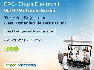EPC- Empa Electronic GaN Webinar Series