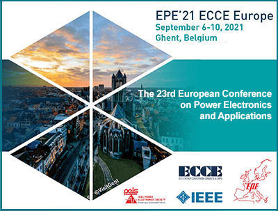 The 23rd European Conference on Power Electronics and Applications (EPC'21)
