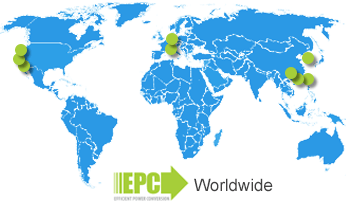 Efficient Power Conversion Corporation Worldwide