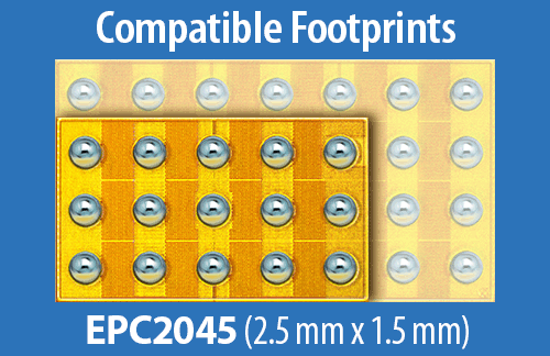 EPC2045 Footprint