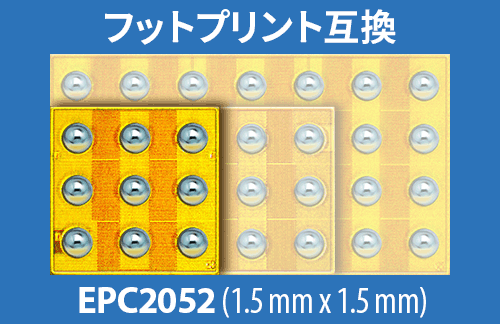 EPC2052 Footprint