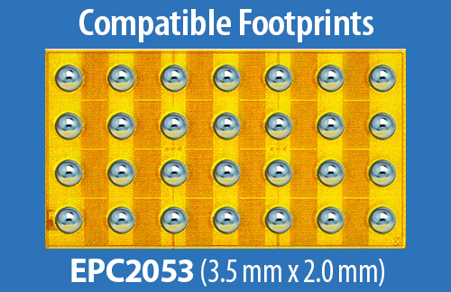 EPC2053 Footprint