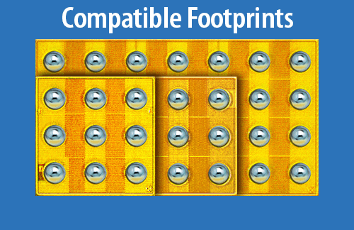 Compatible 48V Footprint