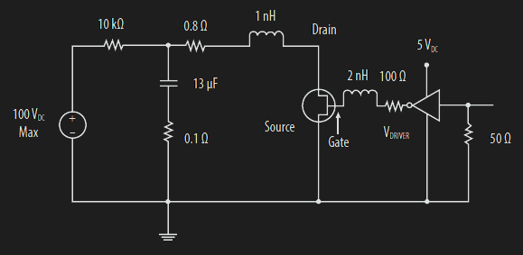 Schematic of basic demo circuit