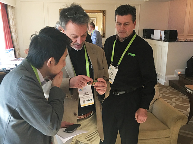 EPC experts were available within our suite to discuss these demonstrations that are changing our lives at home and in the car.