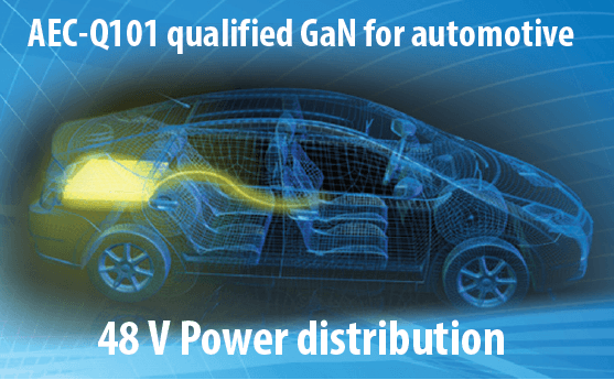 GaN AEC-101 Qualified 48 V Automotive