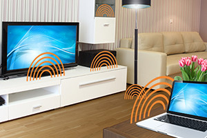 Gallium Nitride in the wireless home
