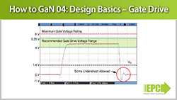 How to GaN 04 – Design Basics: Gate Drive